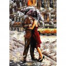 Kiss in the rain DIY Acrylic Paint by Numbers kit