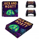 Rick and Morty PS4 pro Skin for PlayStation 4 pro Console and Controller