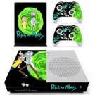 Rick and Morty Xbox one S Skin for Xbox one S Console and 2 Controllers