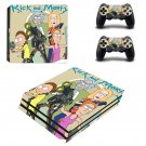 Rick and Morty Vinyl Decal PS4 pro Skin for PlayStation 4 Console & 2 dualshocks