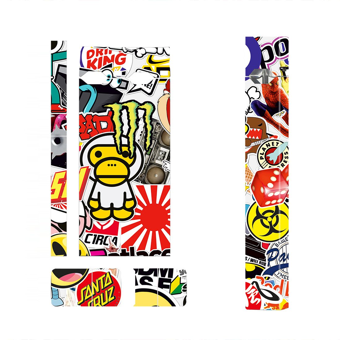 Sticker Bomb Skin Decal for JUUL