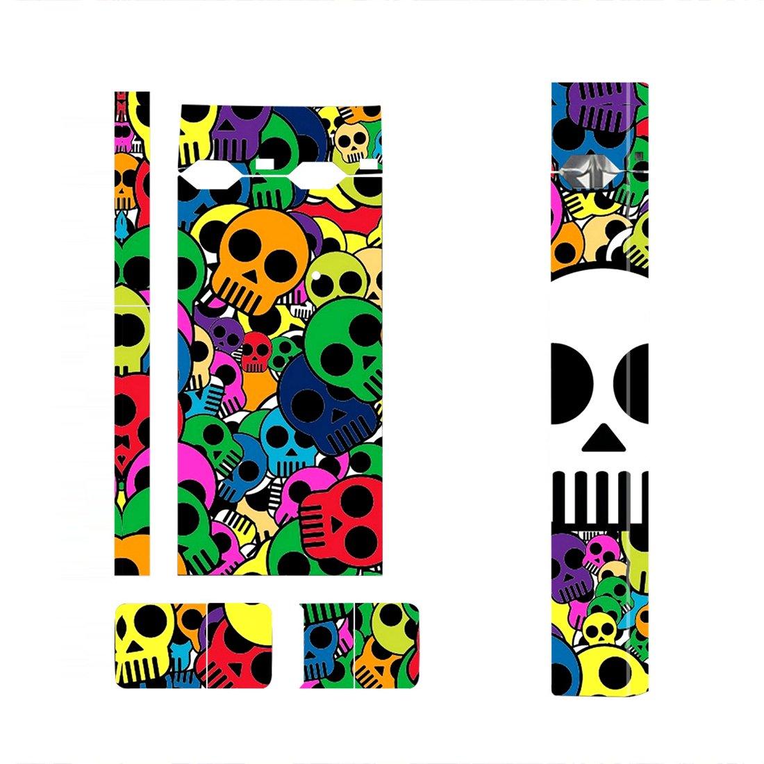 Skulls Skin Decal for JUUL