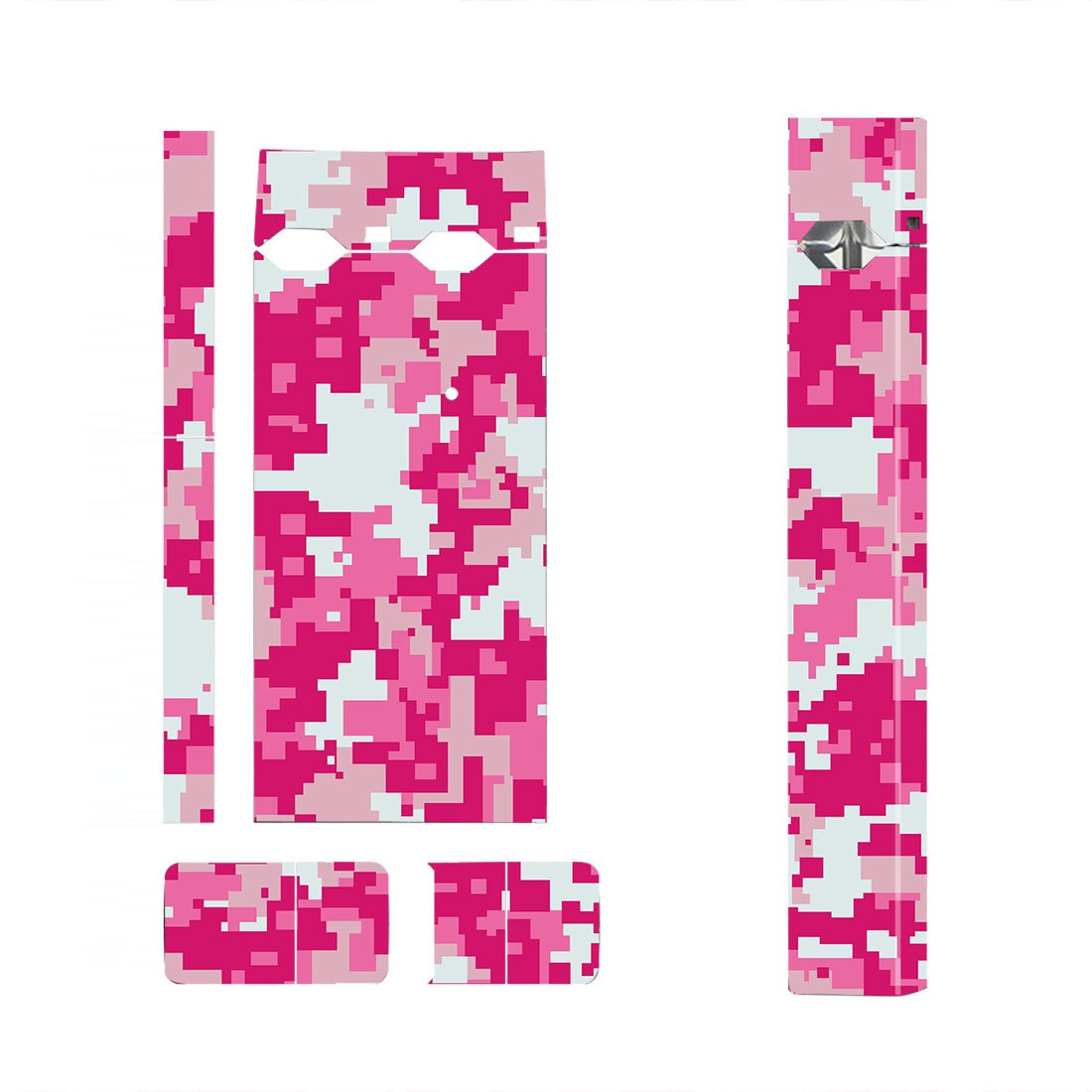 Pink Camouflage Skin Decal for JUUL