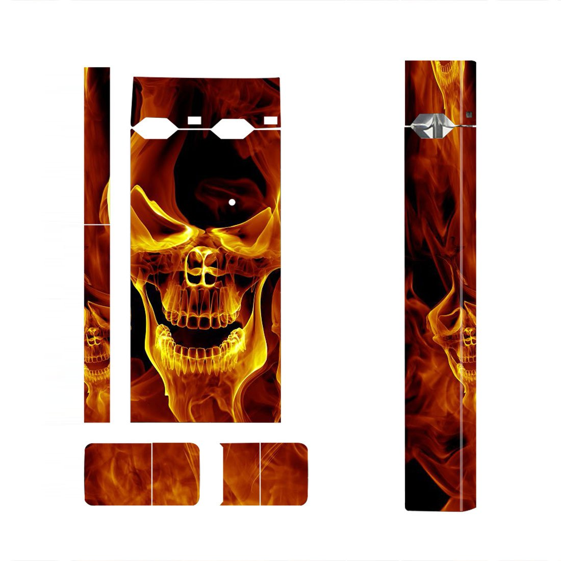 Skull Skin Decal for JUUL