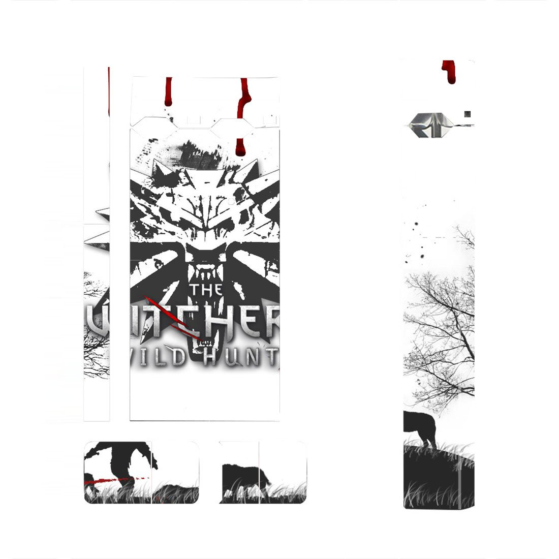 The Witcher Skin Decal for JUUL