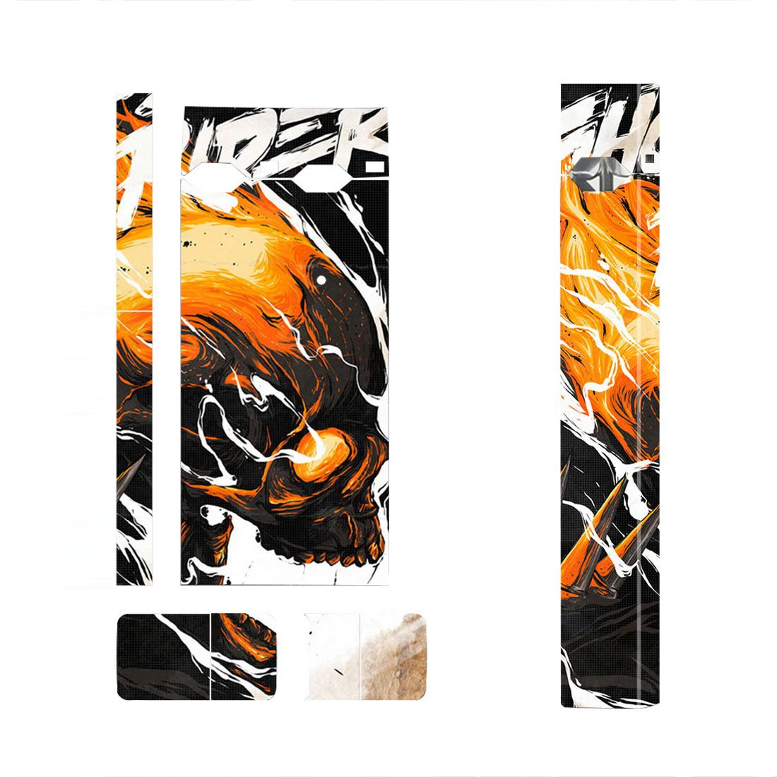 Hell Skin Decal for JUUL