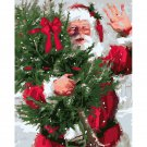 Santa DIY Acrylic Paint by Numbers kit
