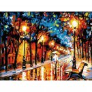 Evening Alley DIY Acrylic Paint by Numbers kit