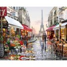 Paris DIY Acrylic Paint by Numbers kit
