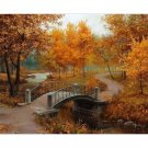 Autumn Alley DIY Acrylic Paint by Numbers kit