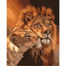 Lions DIY Acrylic Paint by Numbers kit