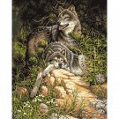 Wolves DIY Acrylic Paint by Numbers kit