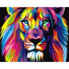 Colorful Lion DIY Acrylic Paint by Numbers kit