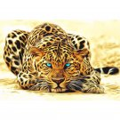 Leopard DIY Acrylic Paint by Numbers kit
