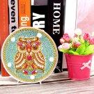 Mandala Owl Paint by Diamond DIY LED Lamp Kit
