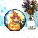 Halloween Kitty Paint by Diamond DIY LED Lamp Kit