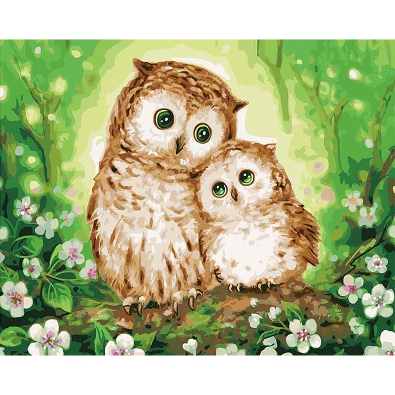 Owls DIY Acrylic - NOT AVAILABLE AT THE MOMETN