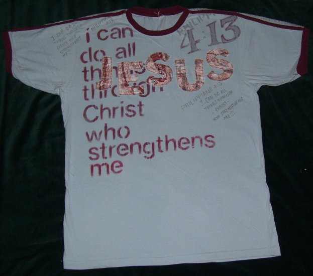 I Can Do All Things (XL)