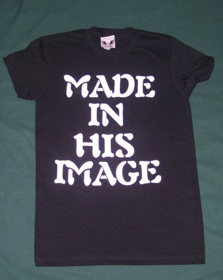Made In His Image (black)
