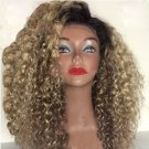 Brazilain Virgin Lace Front Afro kinky Curly