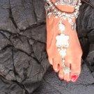 Barefoot Anklet Bracelet Sandal Belly Dance Antique Silver Various Styles