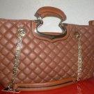 Nicole Lee Elegant Handbag Padded Texture NWT
