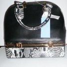 Handbag Med/LG   Black elegant Tote Style  NWT
