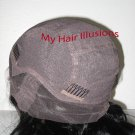 Full Lace Full Silk Top Lace Wig-Custom made NAtural Color