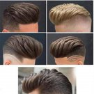 """6"""" Toupee- Top Hat Style Cut View"""
