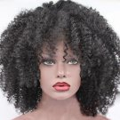 """14"""" Brazilian Virgin Lace Front Afro Kinky Curly"""