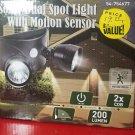 Solar Dual Spot Light Motion Sensor NWT