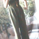 Green Jumpsuit- Rayon