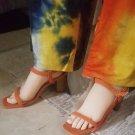 Orange Sandal 8