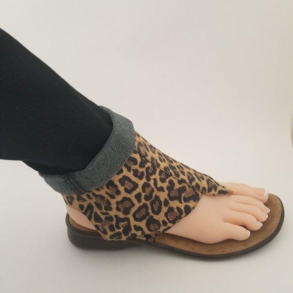 Gladiator Sandals leopard Print