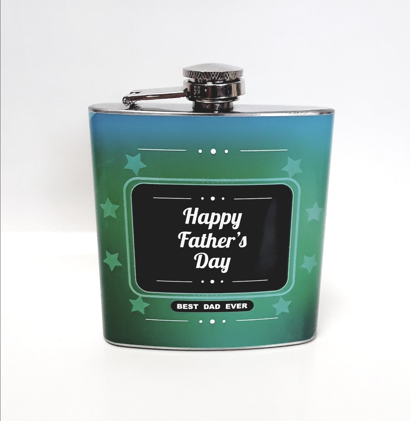 Best Dad Ever Hip Flask, 6 oz