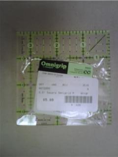 """OmniGrid Fabric Ruler - 3.5"""" Square"""