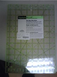 "OmniGrid Fabric Ruler - 8.5"" x 12"""