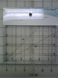 """Quilt in a Day - 6"""" x 6"""" Ruler"""