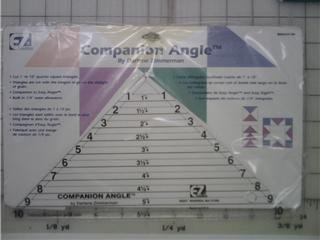 "EZ Quilting - Companion Angle 10"" Triangle"