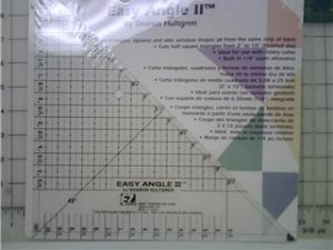 """EZ Quilting - Easy Angle II 10.5"""" Triangle"""