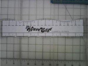"The Wave Edge - 24"" Wavy Ruler"