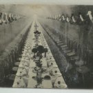 Antique Real Photo Postcard Banquet Hall of the Famous Dry Run Sewer Waterloo