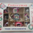 Antique Mercury Glass Indents Christmas Tree Ornament Bulbs