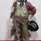 "Vintage Capodimonte Pucci Figurine Porcelain ""Customers Man"" 3178"