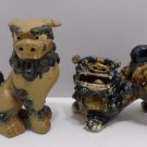 Chinese Foo Foo Dog Statues Fine Pottery and Porcelain