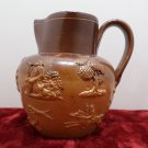 Antique Water Pitcher Royal Doulton Lambeth Salt Glazed Stoneware