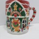 Large Collector Mug Santa's Workshop by Susan Winget Ceramic made in China