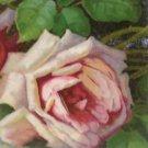 Antique Birthday Postcard White Rose Undivided Unposted