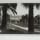 Antique Real Photo Postcard NICE Les Jardins Albert et le Casino