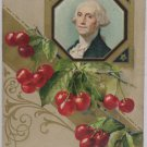Antique Postcard George Washington Germany Posted Divided Embossed